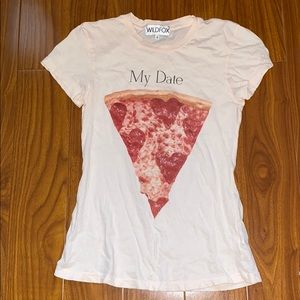 Wildfox My Date Pepperoni Pizza Slice